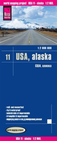 Reise Know-How Verlag Peter Rump - World Mapping Project: Reise Know-How Landkarte USA, Alaska