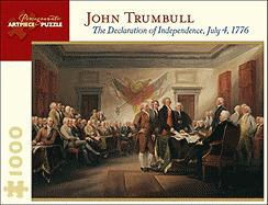 John Trumbull - John Trumbull: The Declaration of Independence, July 4, 1776 1000 Piece Jigsaw Puzzle