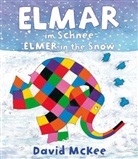 David McKee - Elmar im Schnee, Deutsch-Englisch. Elmer in the snow