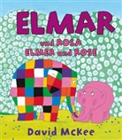 David McKee - Elmar und Rosa, Deutsch-Englisch. Elmer and Rose