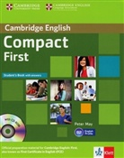 Compact First: Student's Book with answers and CD-ROM