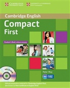 Compact First: Student's Book without answers, with CD-ROM, Workbook without answers, with Audio CD