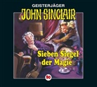 Jason Dark, Frank Glaubrecht, Evelyn Gressmann, Alexandra Lange, Martin May, Franziska Pigulla - Sieben Siegel der Magie, 1 Audio-CD (Audio book)