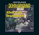 Jason Dark, Katrin Fröhlich, Frank Glaubrecht, Nicolas König, Alexandra Lange, Martin May - Geisterjäger John Sinclair - Allein in der Drachenhöhle, 1 Audio-CD (Audio book)