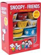 Chronicle Books, Peanuts, Chronicle Books - Snoopy and Friends: Cupcake Kit