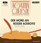 Agatha Christie, Charly Hübner - Der Mord an Roger Ackroyd, 1 MP3-CD (Hörbuch)