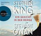 Stephen King, Stewart ONan, Stewart O'Nan, Kin Stephen, King Stephen, David Nathan - Ein Gesicht in der Menge, 1 Audio-CD (Hörbuch)