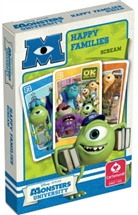 Walt Disney - Disney Monsters University (Kartenspiel), Quartett
