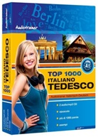Top 1000 Audiotrainer Italienisch-Deutsch / Italiano-Tedesco, 2 Audio/mp3-CDs m. Buch (Hörbuch)