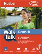 Renate Luscher - Walk & Talk Deutsch Hörkurs, 2 Audio-CDs + MP3-CD + Begleitheft (Hörbuch)