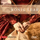 William Shakespeare, Bernhard Minetti, Friedhelm Ptok, Ulrich Wildgruber - König Lear, 2 Audio-CDs (Hörbuch)