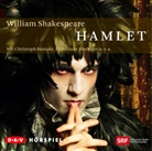 William Shakespeare, Christoph Banther, Christoph Bantzer, Christiane Hörbiger, Wolfgang Reichmann - Hamlet, 2 Audio-CDs (Hörbuch)
