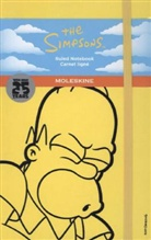 "Moleskine Notizbuch, Limited Edition ""The Simpsons"", Large, A5 liniert, gelb"