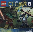 LEGO Legends of Chima. Tl.8, 1 Audio-CD (Hörbuch)