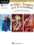 Hal Leonard Publishing Corporation (COR), Hal Leonard Corp, Hal Leonard Publishing Corporation - SONGS FROM FROZEN, TANGLED & ENCHANTED - CELLO VIOLONCELLE +ENREGISTREMENTS ONLINE
