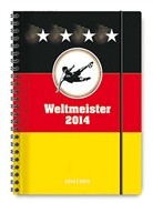 Collegetimer A5 Weltmeister 2014/2015