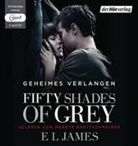 E L James, Merete Brettschneider - Fifty Shades of Grey - Geheimes Verlangen, 2 MP3-CDs (Hörbuch)