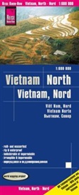 Reise Know-How Verlag Peter Rump, Peter Rump Verlag - Reise Know-How Landkarte Vietnam Nord