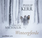 Philip Kerr, Torsten Michaelis - Winterpferde, 4 Audio-CDs (Hörbuch)
