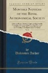 Unknown Author - Monthly Notices of the Royal Astronomical Society, Vol. 32
