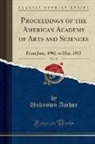 Unknown Author - Proceedings of the American Academy of Arts and Sciences, Vol. 38