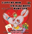 Shelley Admont, Kidkiddos Books, S. A. Publishing - I Love My Mom Ich habe meine Mama lieb