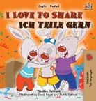 Shelley Admont, Kidkiddos Books, S. A. Publishing - I Love to Share Ich teile gern