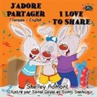 Shelley Admont, Kidkiddos Books, S. A. Publishing - J'adore Partager I Love to Share