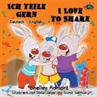 Shelley Admont, Kidkiddos Books, S. A. Publishing - Ich teile gern I Love to Share