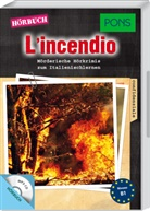 Giovanni Garelli - L'incendio, 1 MP3-CD (Hörbuch)