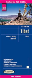 Reise Know-How Verlag Peter Rump, Reise Know-How Verlag Peter Rump - Reise Know-How Landkarte Tibet (1:1.500.000) und Lhasa-Valley (1:50.000)