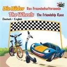 Kidkiddos Books, Inna Nusinsky, S. A. Publishing - Die Räder Das Freundschaftsrennen The Wheels The Friendship Race