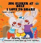Shelley Admont, S. A. Publishing - Jeg elsker at dele - I Love to Share