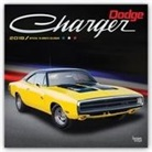 Browntrout Publishers (COR) - Dodge Charger 2018 Calendar