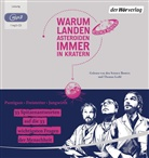 Florian Freistetter, Helmut Jungwirth, Martin Puntigam, Science Busters, Thomas Löbl, Thomas Loibl... - Warum landen Asteroiden immer in Kratern?, 1 MP3-CD (Hörbuch)