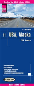 Reise Know-How Verlag Peter Rump - Reise Know-How Landkarte USA, Alaska (1:2.000.000)