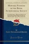 Royal Astronomical Society - Monthly Notices of the Royal Astronomical Society, Vol. 38