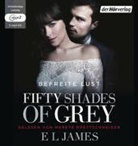 E L James, Merete Brettschneider - Fifty Shades of Grey - Befreite Lust, 2 MP3-CDs (Hörbuch)