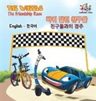 S. A. Publishing - The Wheels-The Friendship Race (English Korean Book for Kids)