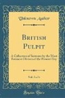 Unknown Author - British Pulpit, Vol. 5 of 6