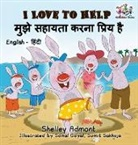 Shelley Admont, S. A. Publishing - I Love to Help (English Hindi Children's book)