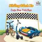 Kidkiddos Books, Inna Nusinsky, S. A. Publishing - The Wheels The Friendship Race (Vietnamese Book for Kids)