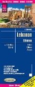 Reise Know-How Verlag Peter Rump - Reise Know-How Landkarte Libanon / Lebanon (1:200.000)
