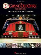 Not Available (NA), Hal Leonard Publishing Corporation - THE GRAND OLE OPRY SONGBOOK PIANO, VOIX, GUITARE