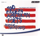 E.E. Cummings, T. S. Eliot, T.S. Eliot, Allen Ginsberg, Dorothy Parker, Silvia Plath... - The Spoken Arts Treasury, 14 Audio-CDs (Hörbuch)