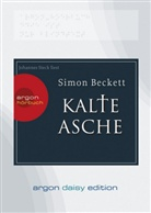 Simon Beckett, Johannes Steck - Kalte Asche, 1 MP3-CD (DAISY Edition) (Hörbuch)