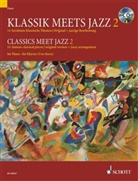 Uwe Korn - Klassik meets Jazz, für Klavier, m. Audio-CD. Vol.2