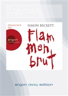 Simon Beckett, Johannes Steck - Flammenbrut, 1 MP3-CD (Hörbuch)