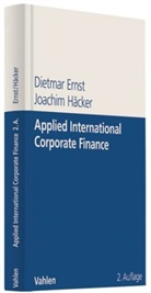 Erns, Dietma Ernst, Dietmar Ernst, Häcker, Joachim Häcker - Applied International Corporate Finance