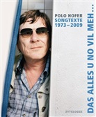 Alice Hofer, Polo Hofer - Songtexte 1973-2009